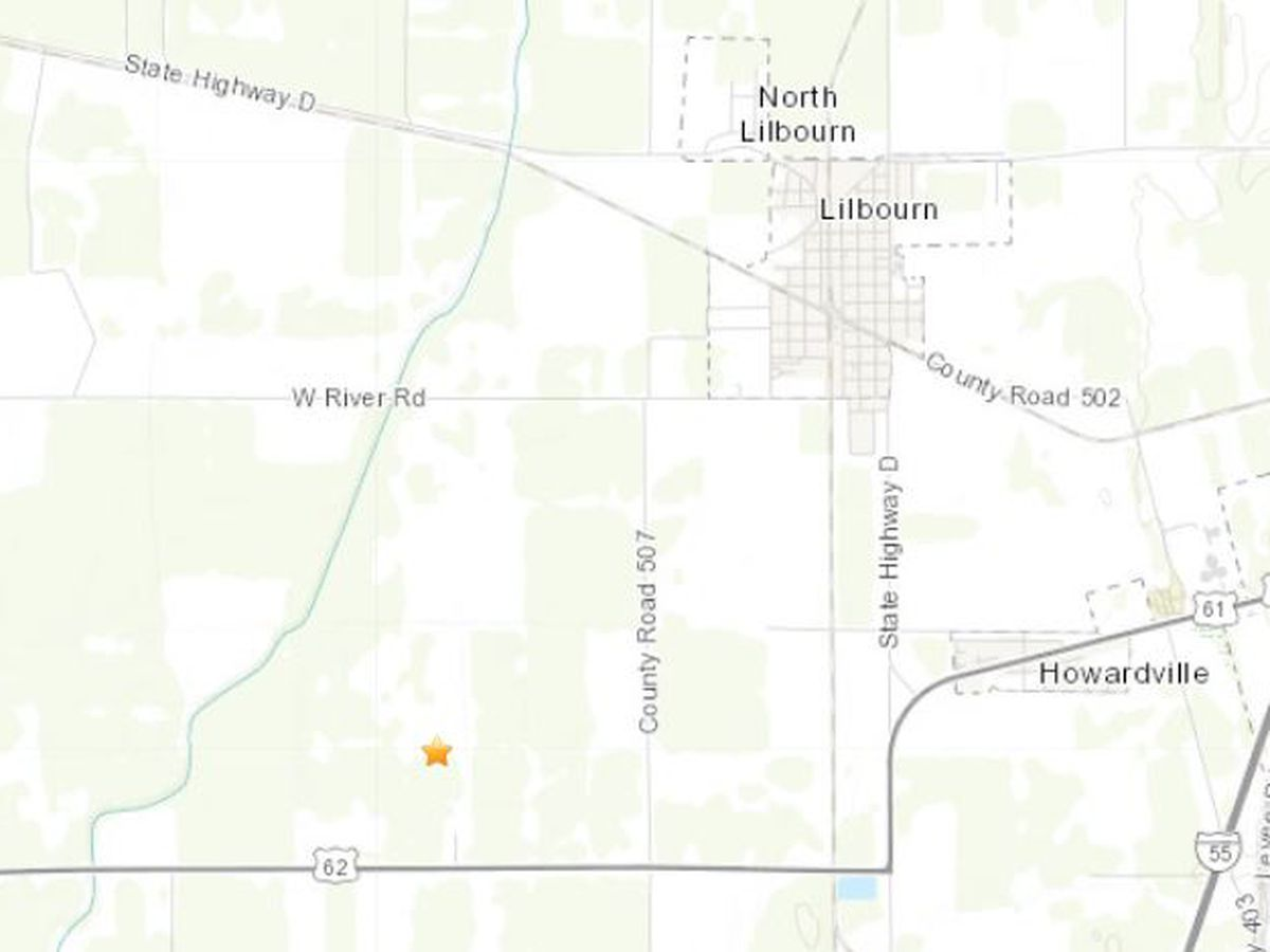 6 small earthquakes recorded in southeast, Mo.