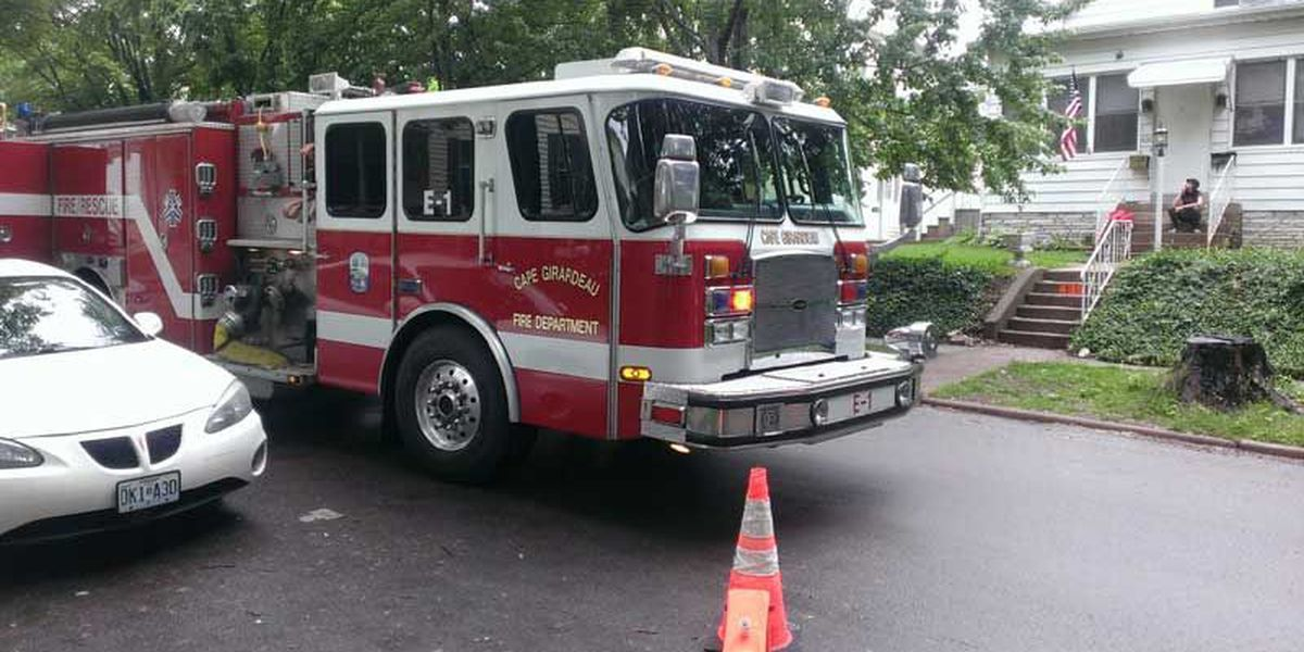 Patient at boarding house suspected of starting fire
