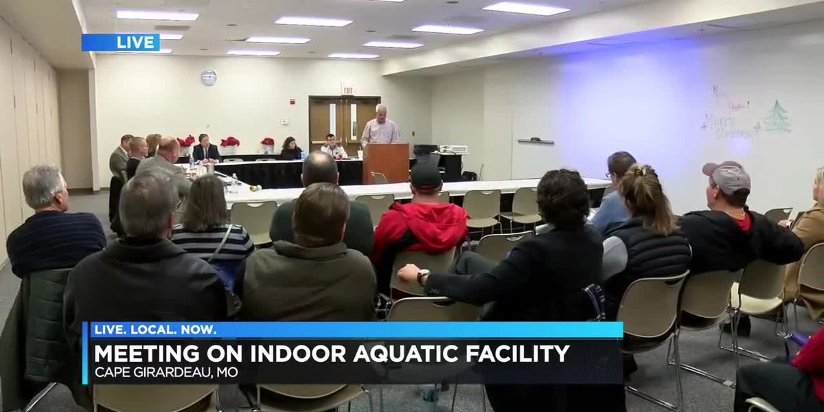 Meeting held in Cape Girardeau, MO over indoor aquatic facility