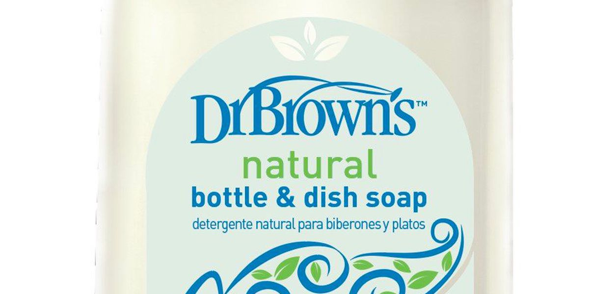 Bottle and dish soap recalled; may contain harmful bacteria