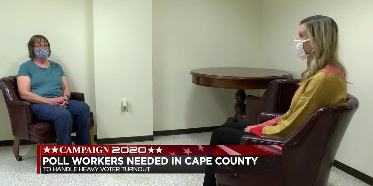 Election poll workers needed in Cape Girardeau County