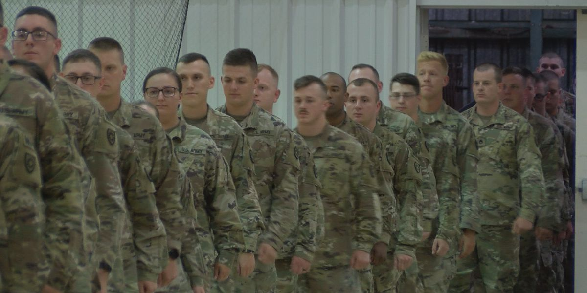 More than 100 men and women deployed to Guantanamo Bay