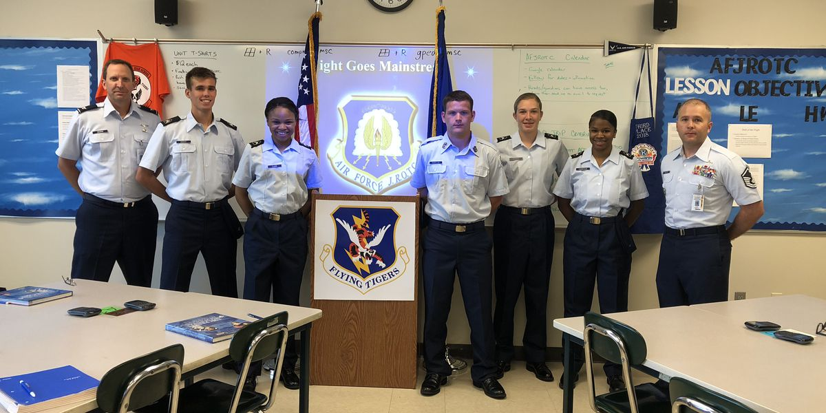 Cape Central AFJROTC earns outstanding organization award