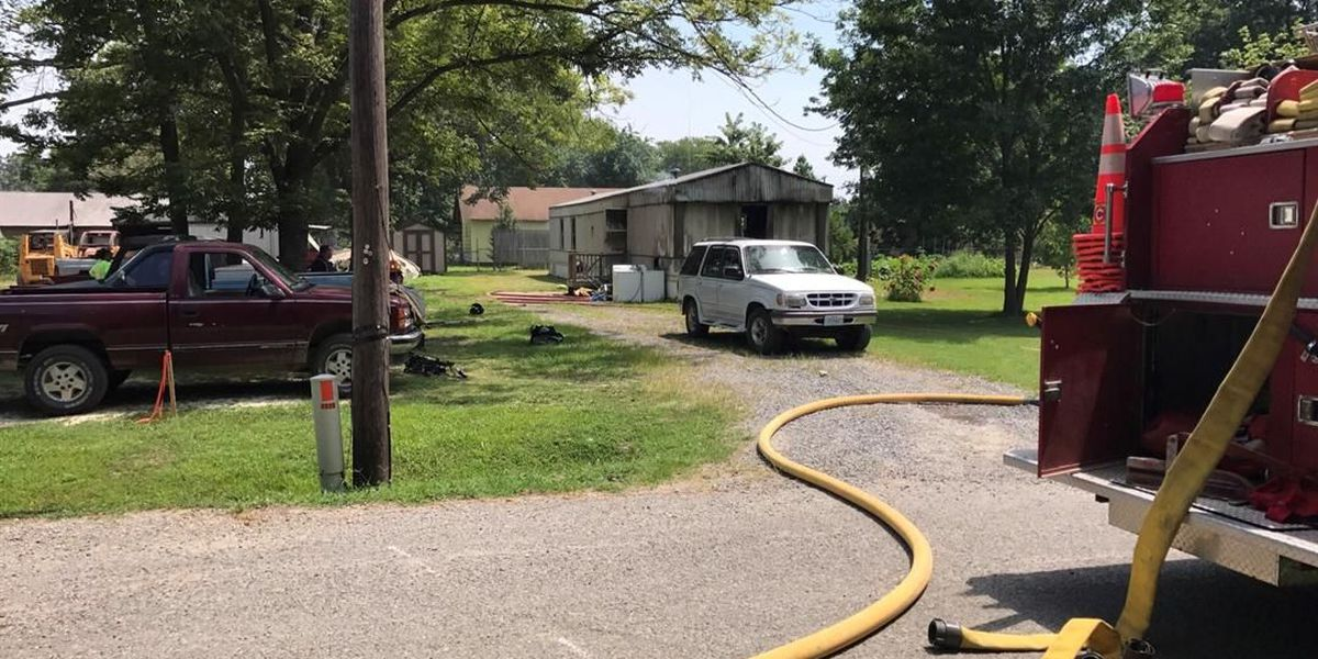 5 people escape house fire in Delta, MO