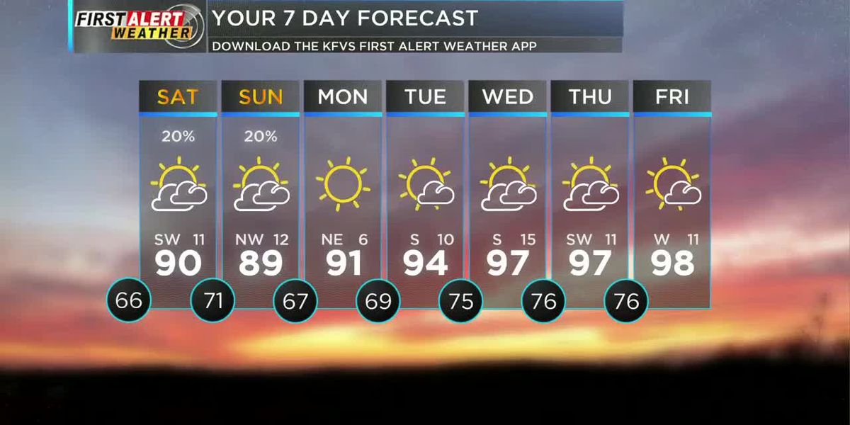 First Alert Noon Forecast 7/10