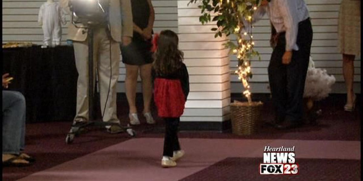 Kids walk in fashion show, help kids in need
