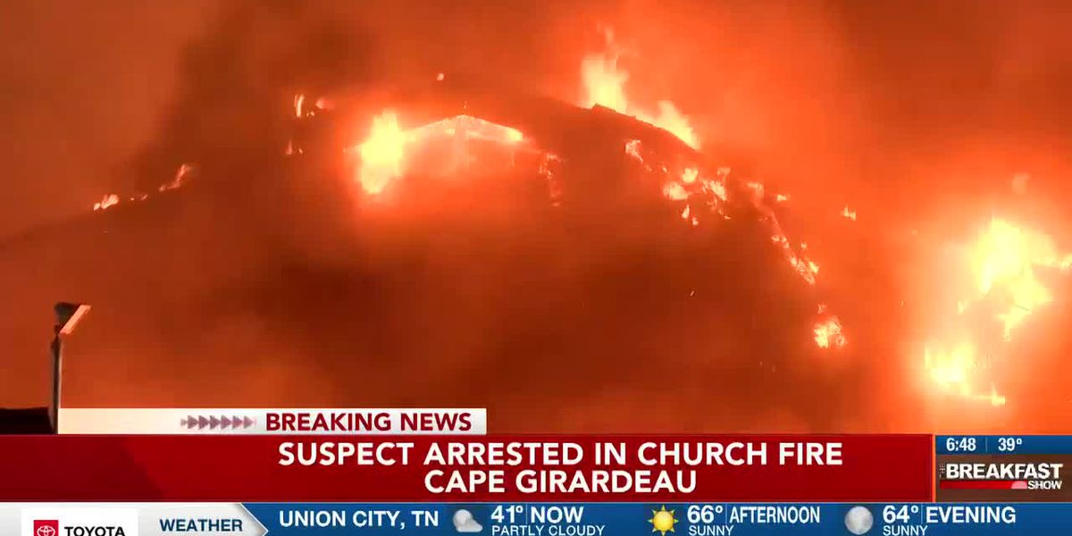 Fire at Cape Girardeau Church of Jesus Christ of Latter-day Saints investigated as arson