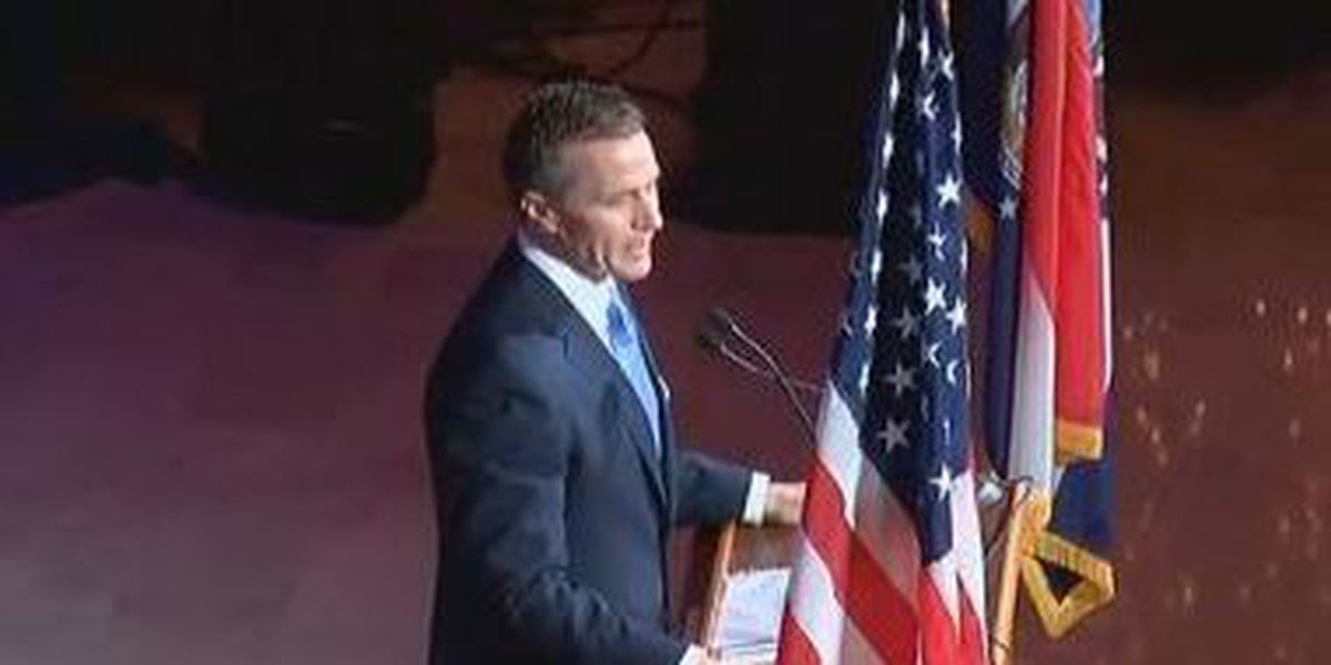 Missouri Gov. Greitens to give second State of the State