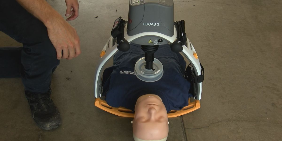 Automatic CPR devices for six Cape Girardeau Co. fire departments