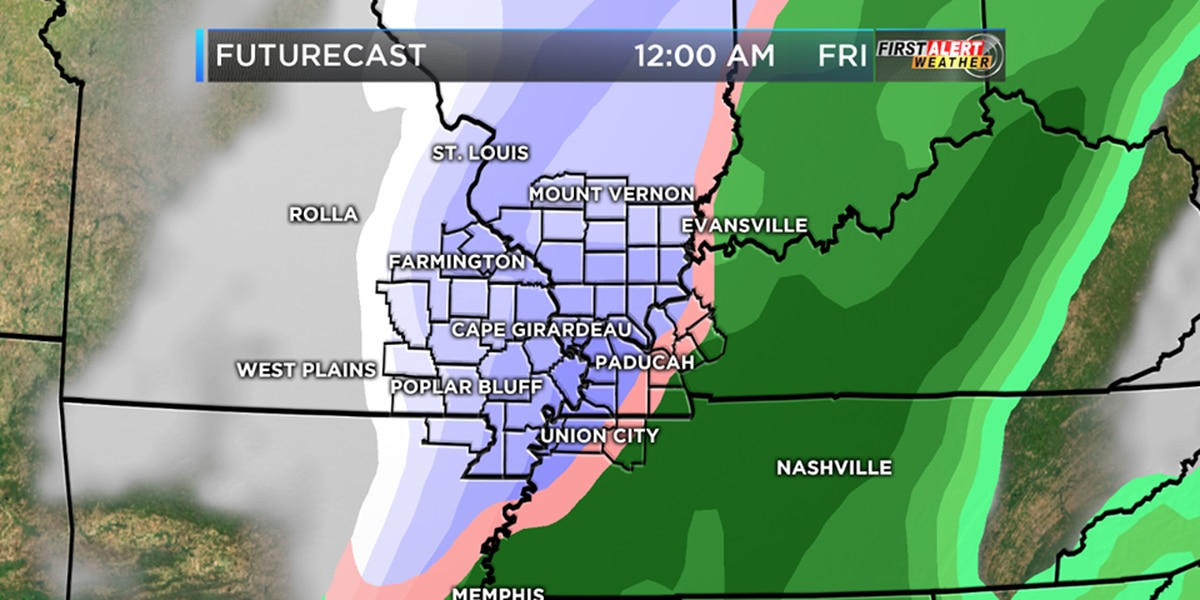 First Alert: Fog tonight, snow chances later in the week