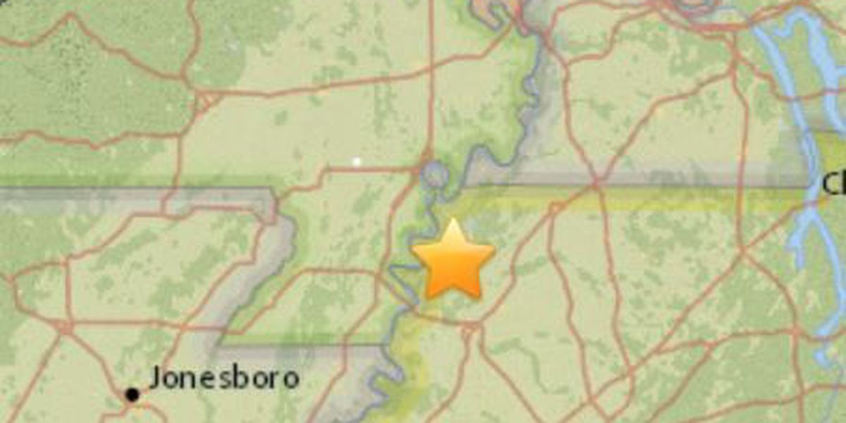 Parts of TN shaken by 2.4 magnitude quake