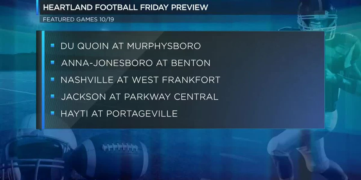 Heartland Football Friday Week 10 Preview