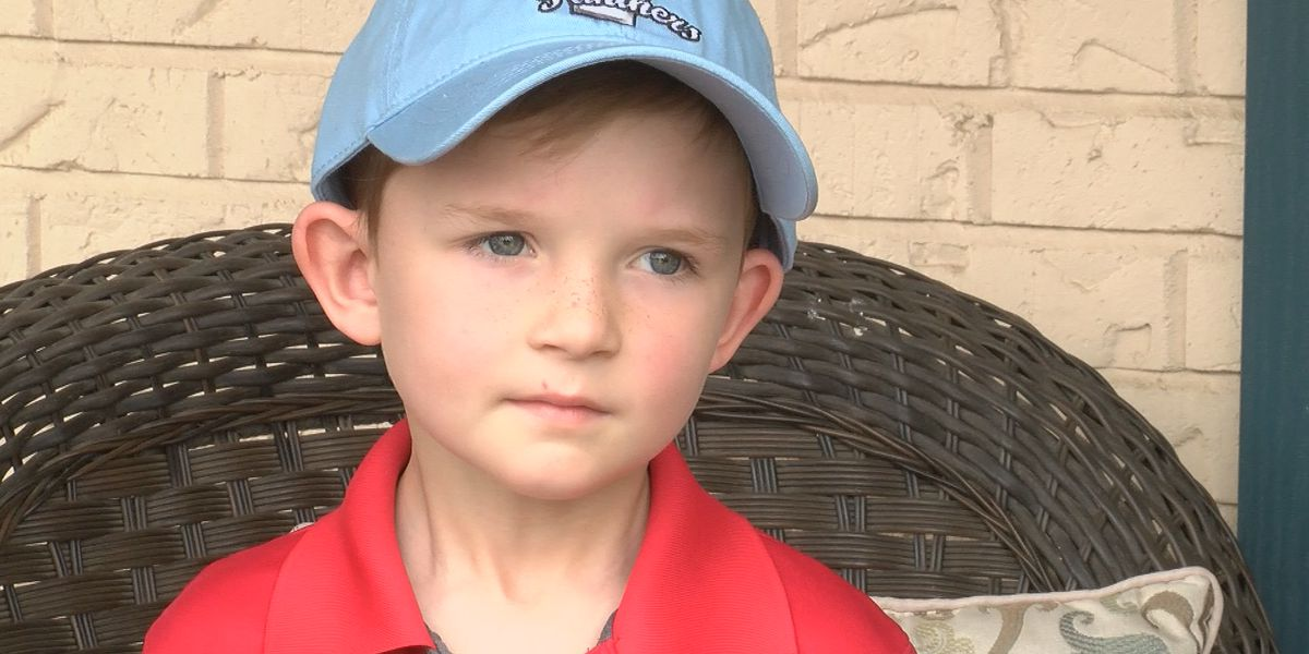 Five-year-old donates to Heartland nursing home