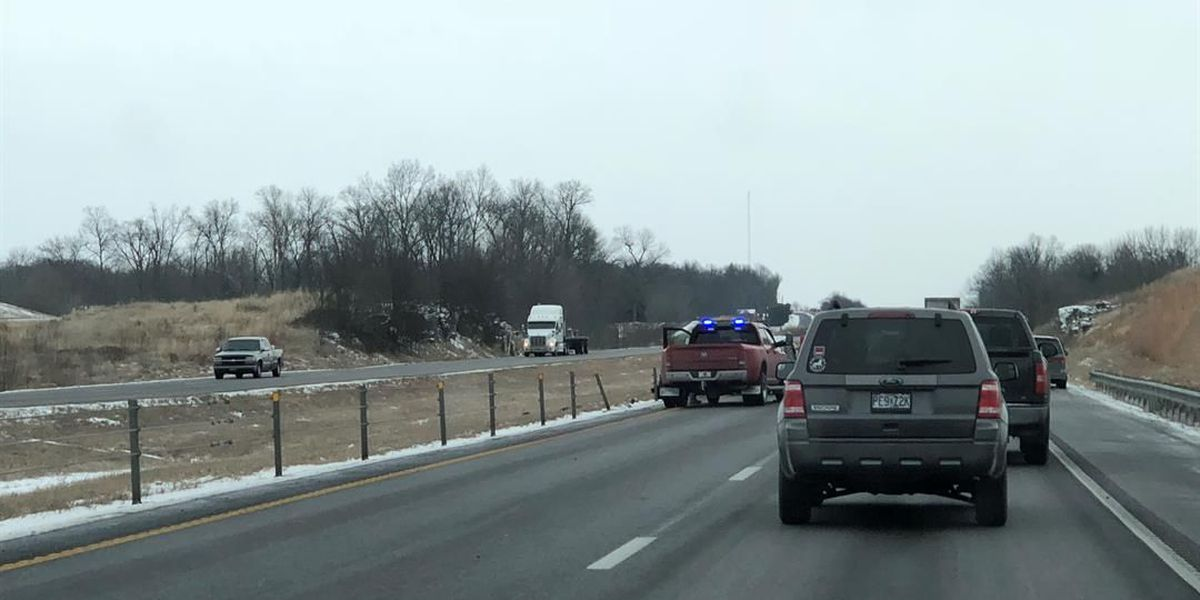 I-55 down to 1 lane near Fruitland exit after crash