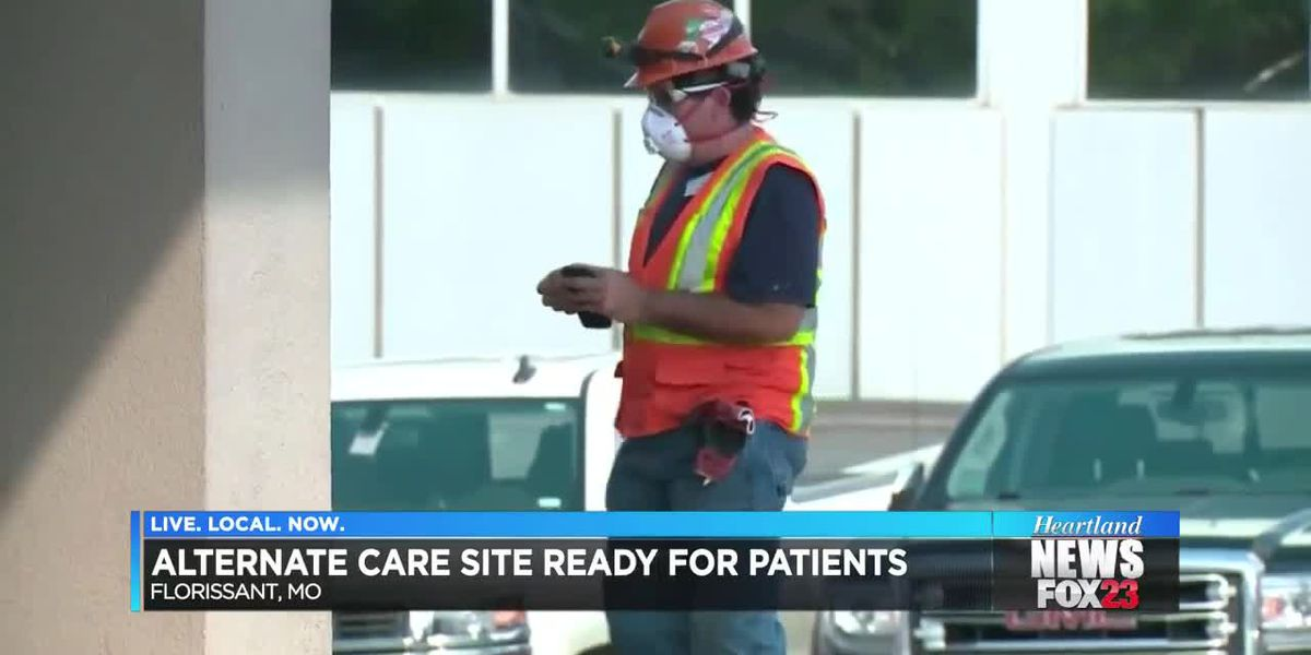 Alternate care site ready for patients