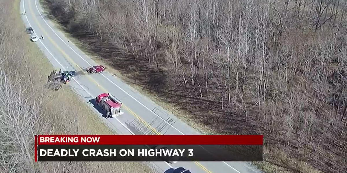 Deadly Rt. 3 crash at Thebes, IL