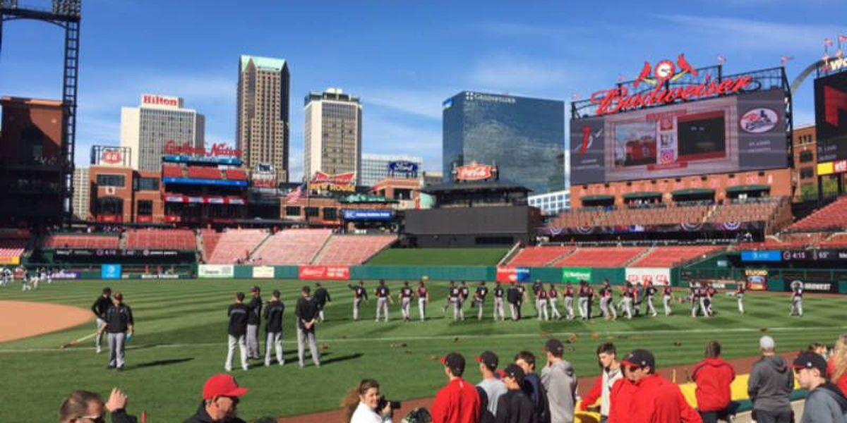 Jackson, MO baseball team plays at Busch Stadium
