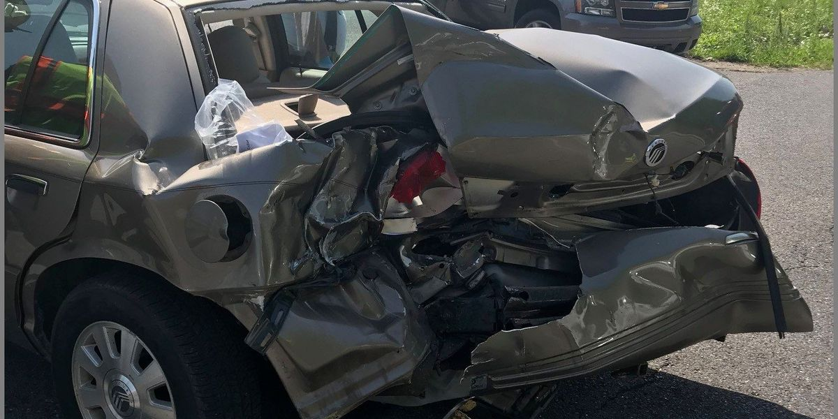Two vehicle crash in McCracken Co. sends two to hospital