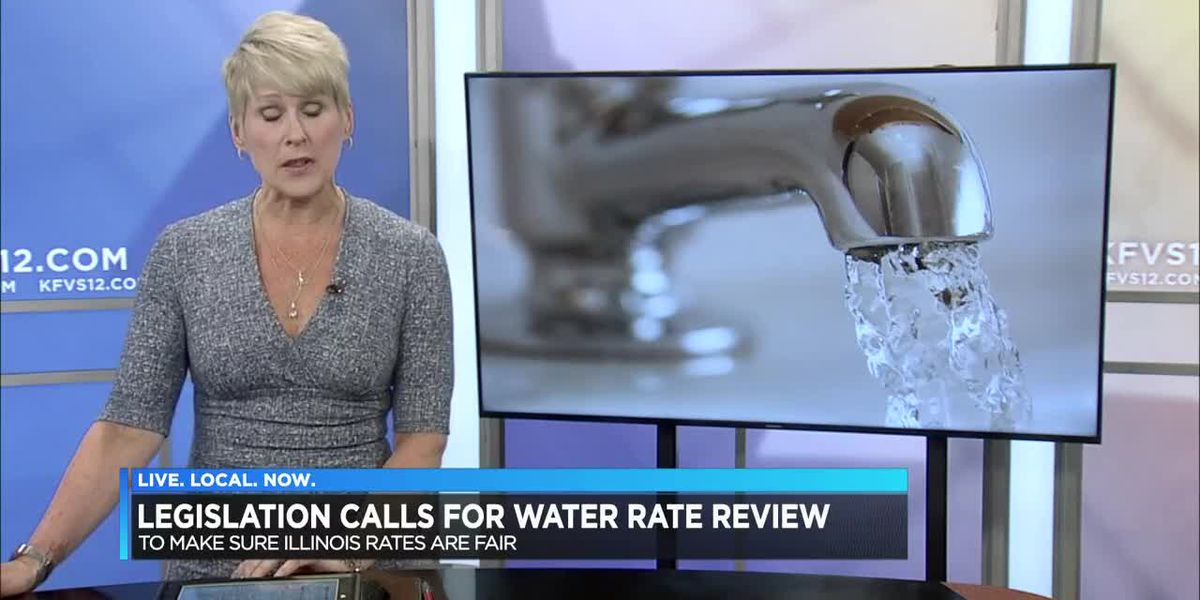 IL legislation calls for water rate review