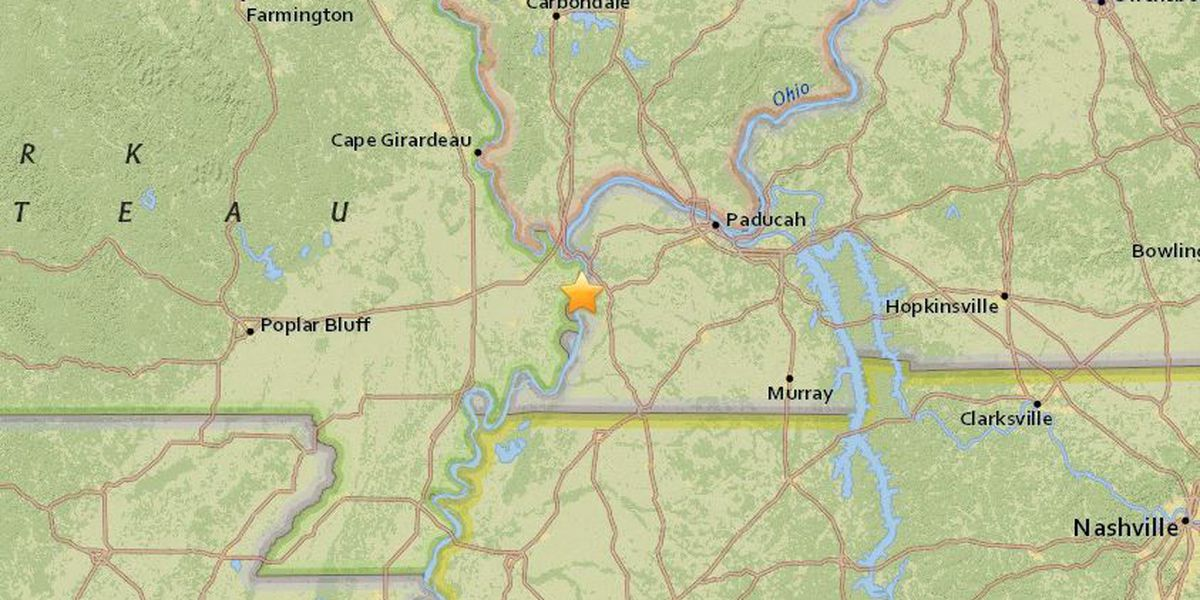 Shake, rattle & roll! Magnitude 3.2 earthquake rattles parts of western KY