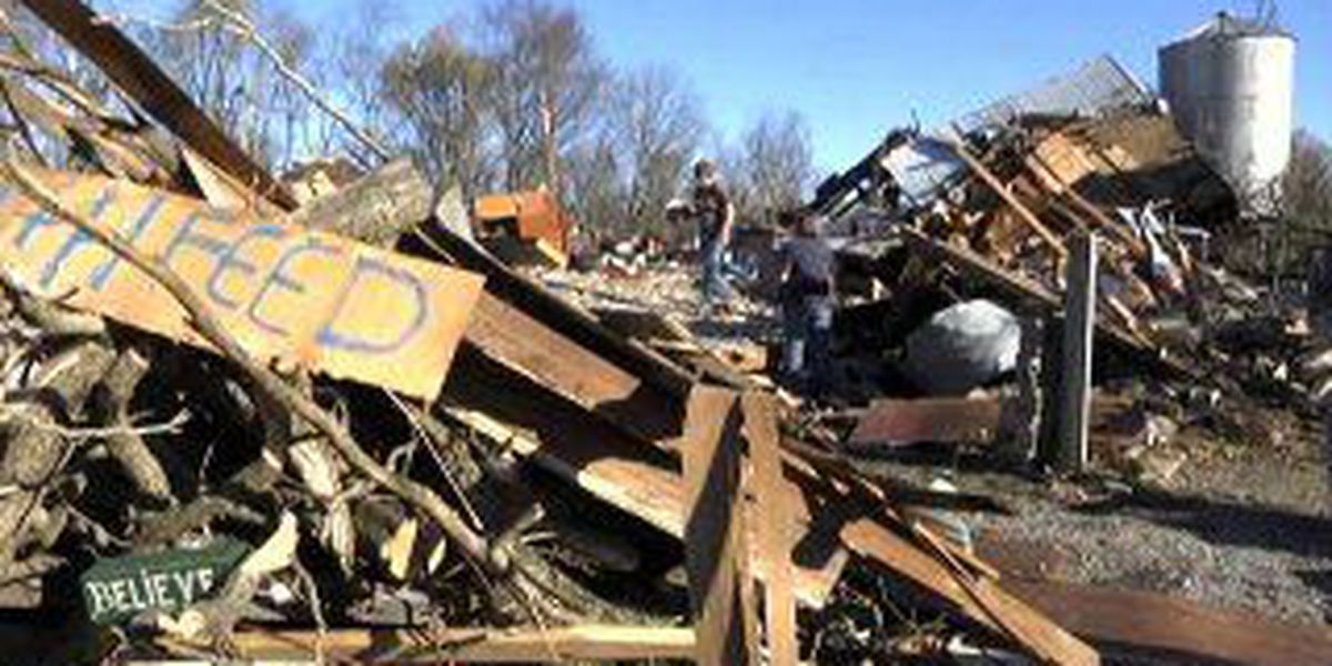 Church, Moore tornado survivors step up for Brookport storm victims