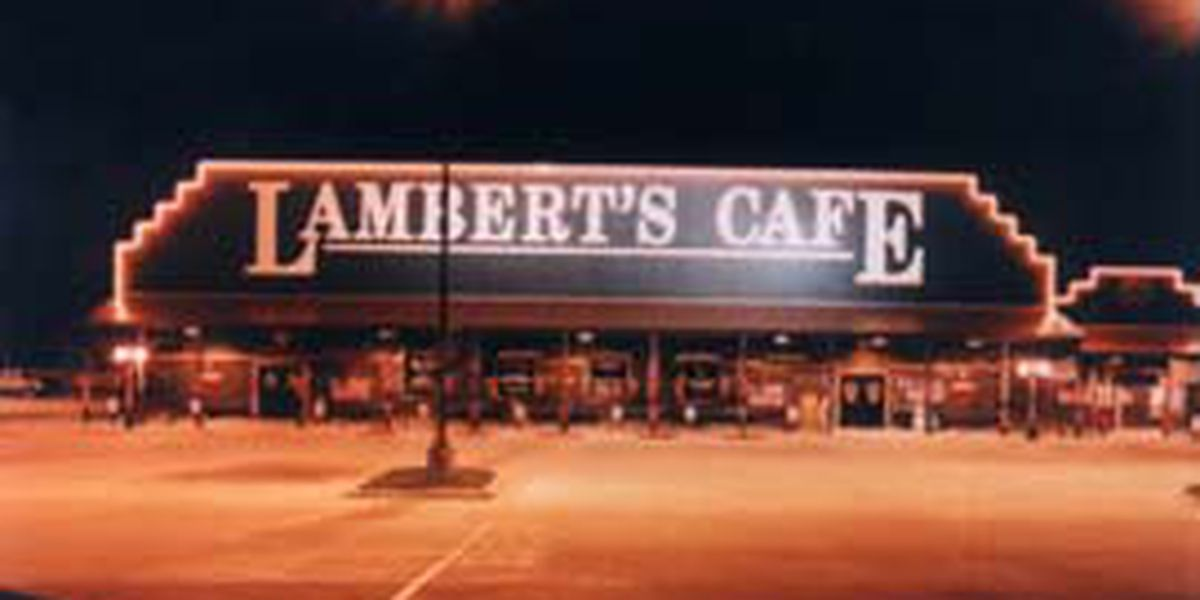Son of Lambert's Cafe former owner indicted on sex-trafficking charges