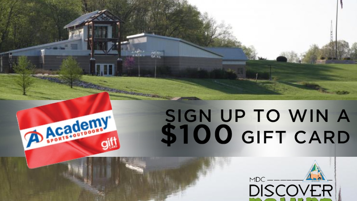 Enter to win a $100 gift card to Academy Sports