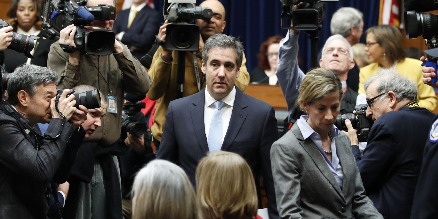Michael Cohen casts Trump as a 'conman' who directed lies and cover-ups