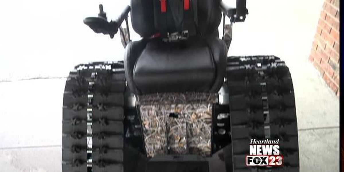 'Tank Chair' helps man camp, hunt and more