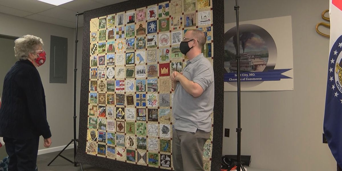 Mo. Bicentennial Quilt displayed in Scott County, Mo.