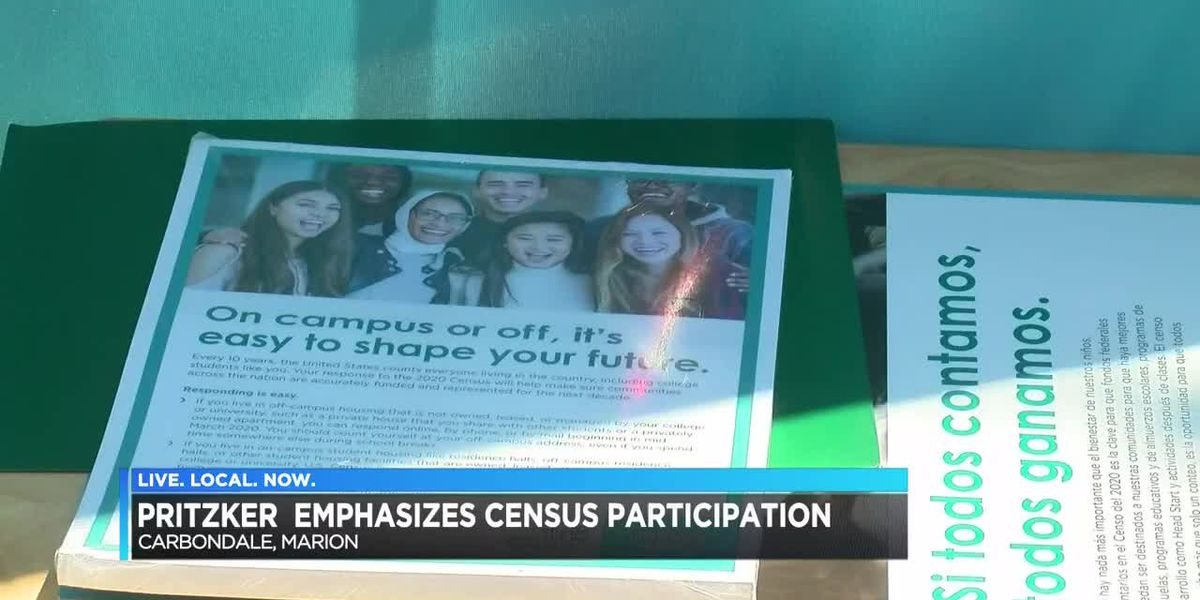 Ill. Gov. Pritzker, other elected officials talked in Carbondale about completing 2020 Census