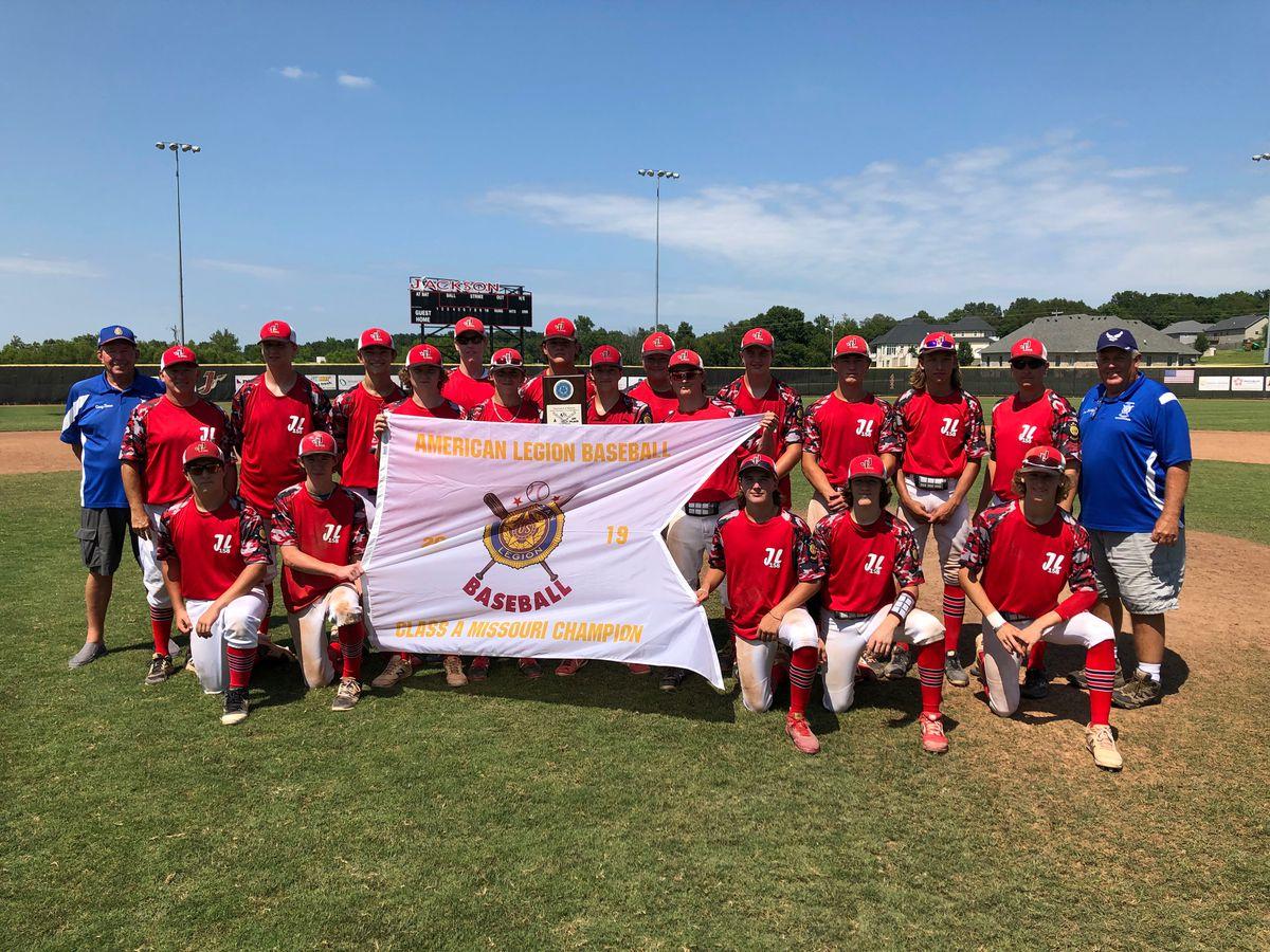 Jackson Freshman American Legion team wins state title
