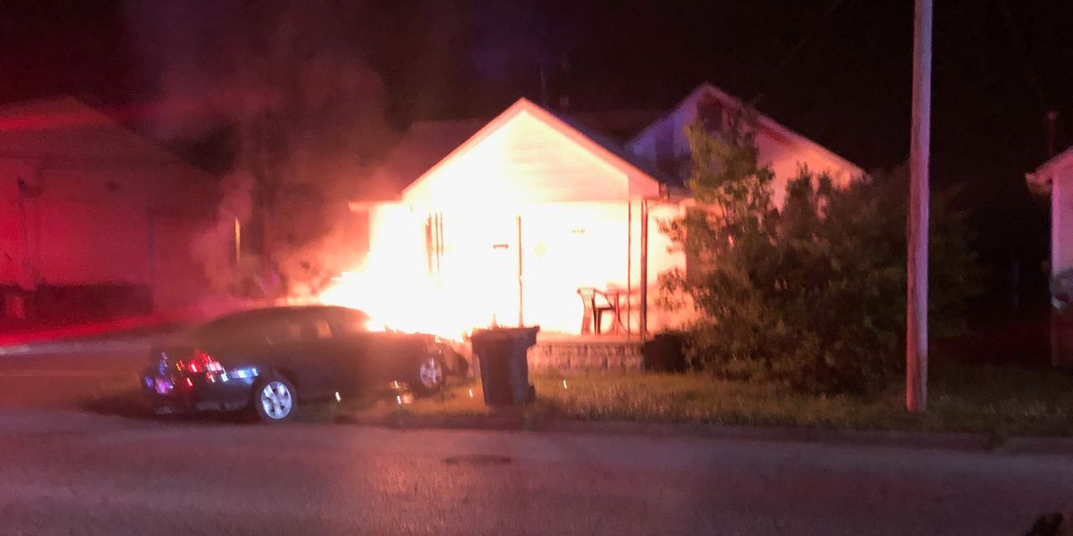 Paducah, Ky. man accused of chasing vehicle until it crashed into home, caught fire