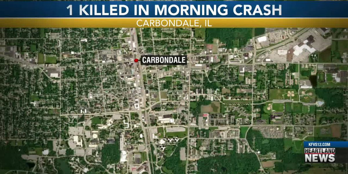 1 person killed during 3-vehicle crash in Carbondale