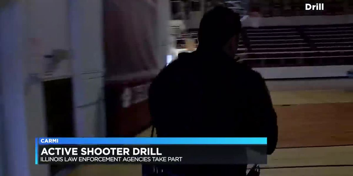 Illinois law enforcement agencies take part in active shooter training