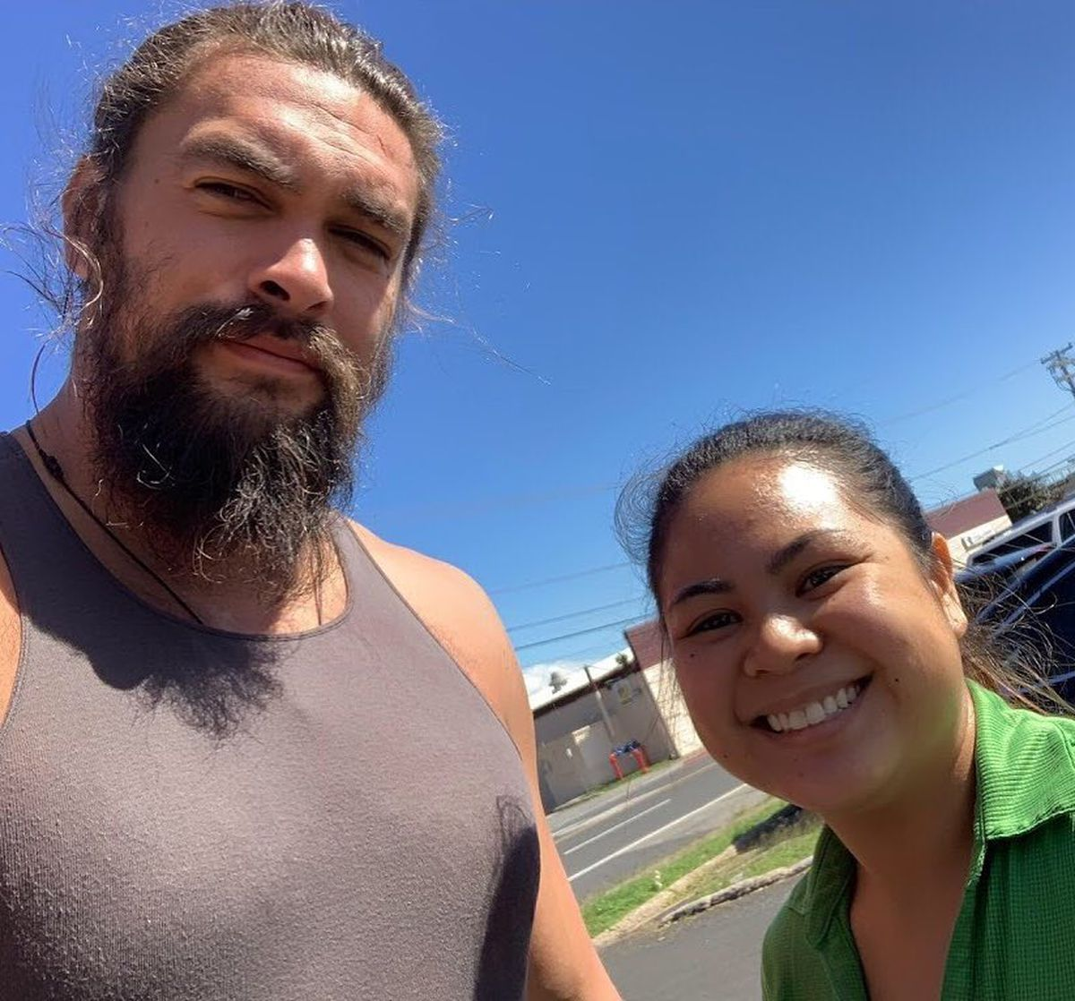 Jason Momoa Pink: He's Home! After Dining On Lau Lau And Poke, Jason Momoa