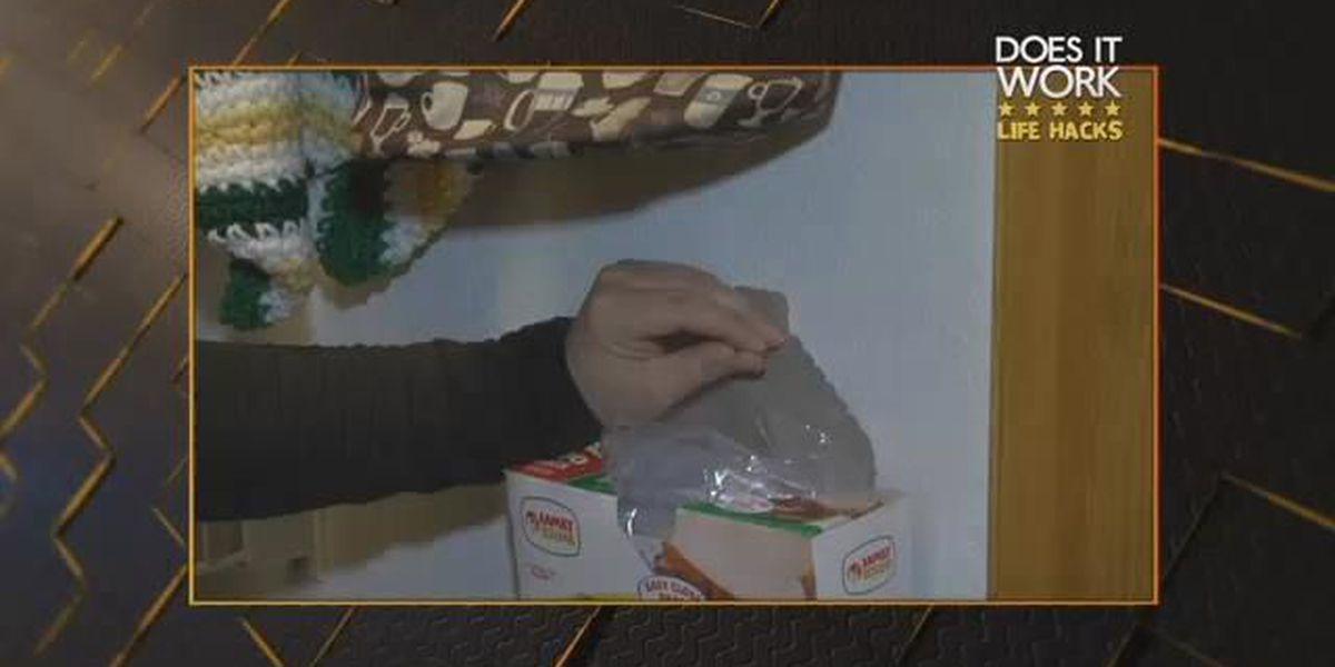 Life Hacks: Plastic bag box