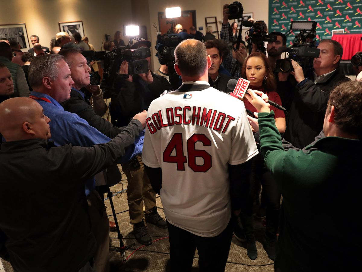 Cards' Goldschmidt is not thinking beyond 2019 season