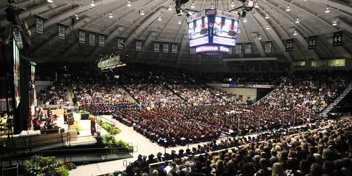 SIU 2017 fall commencement