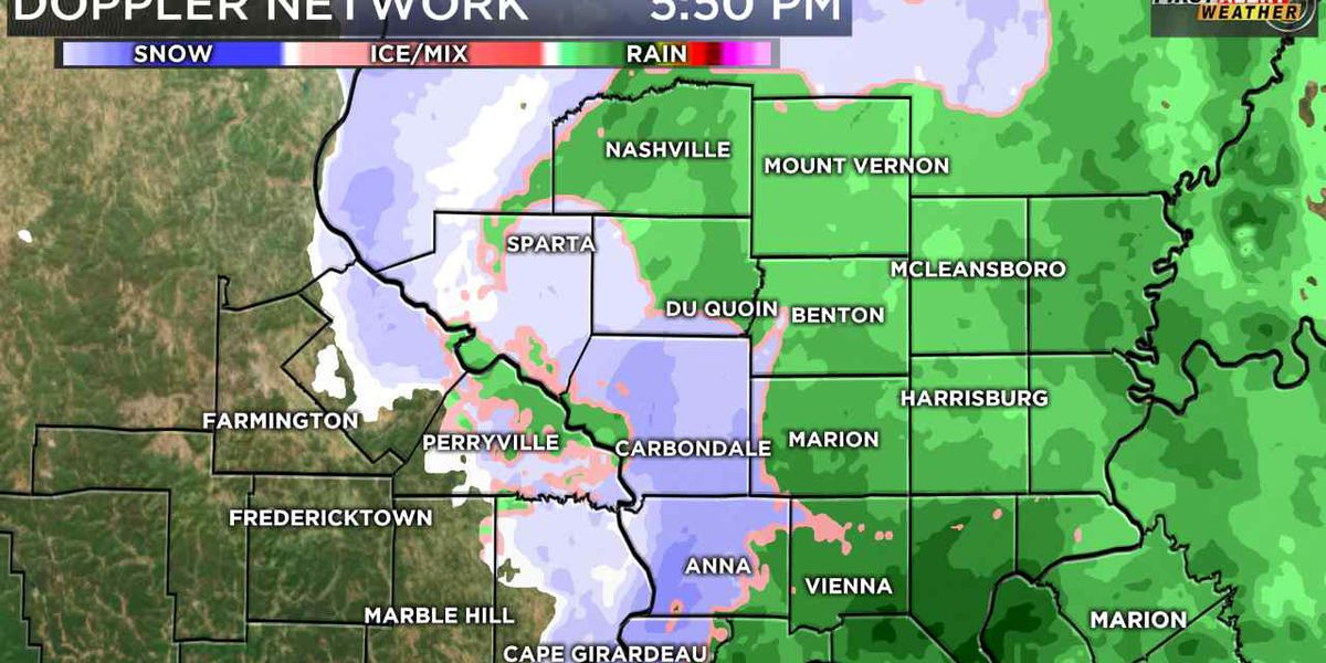 First Alert: Scattered rain/snow showers continue tonight