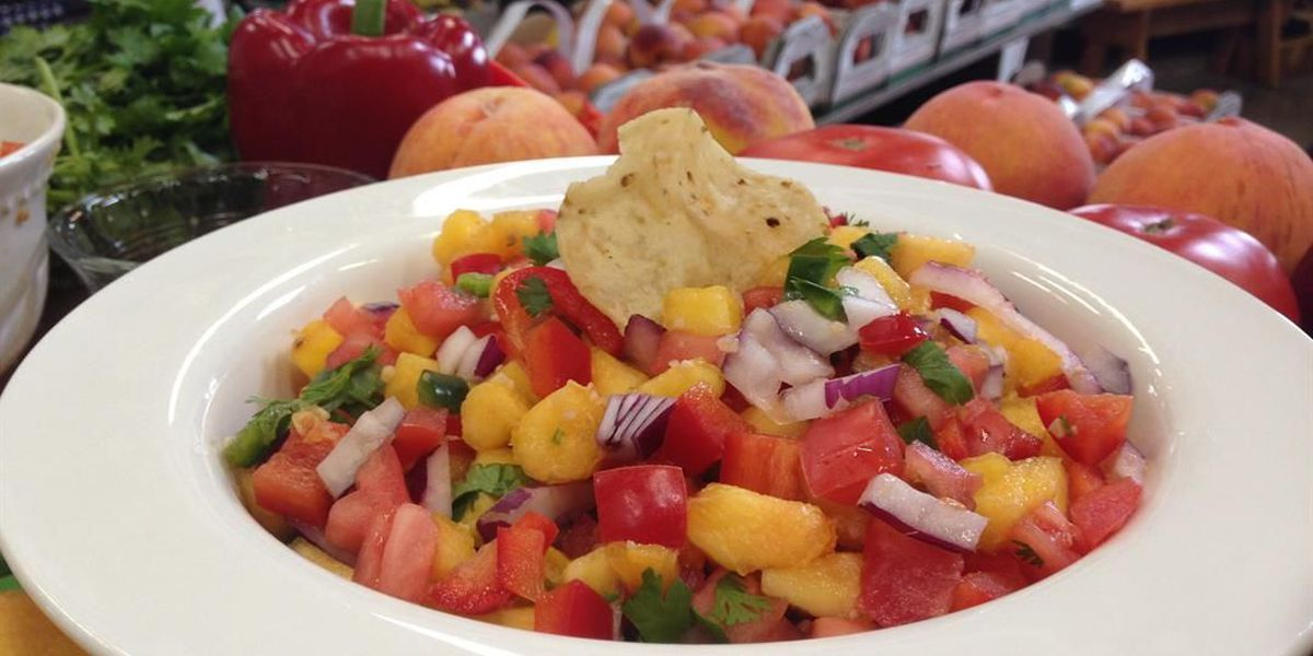 Heartland Cooks - Rendleman Orchard's Fresh Peach Salsa