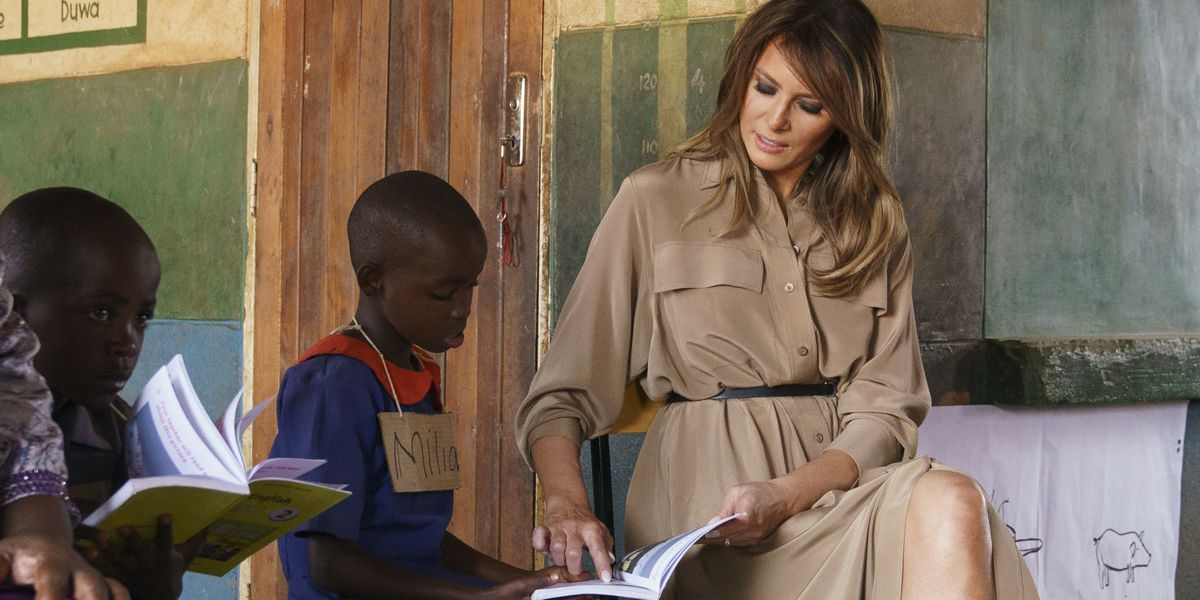 Melania Trump spotlights USAID reading programme in Malawi