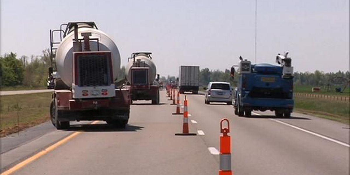 Watch for slow-moving MoDOT crews striping roads