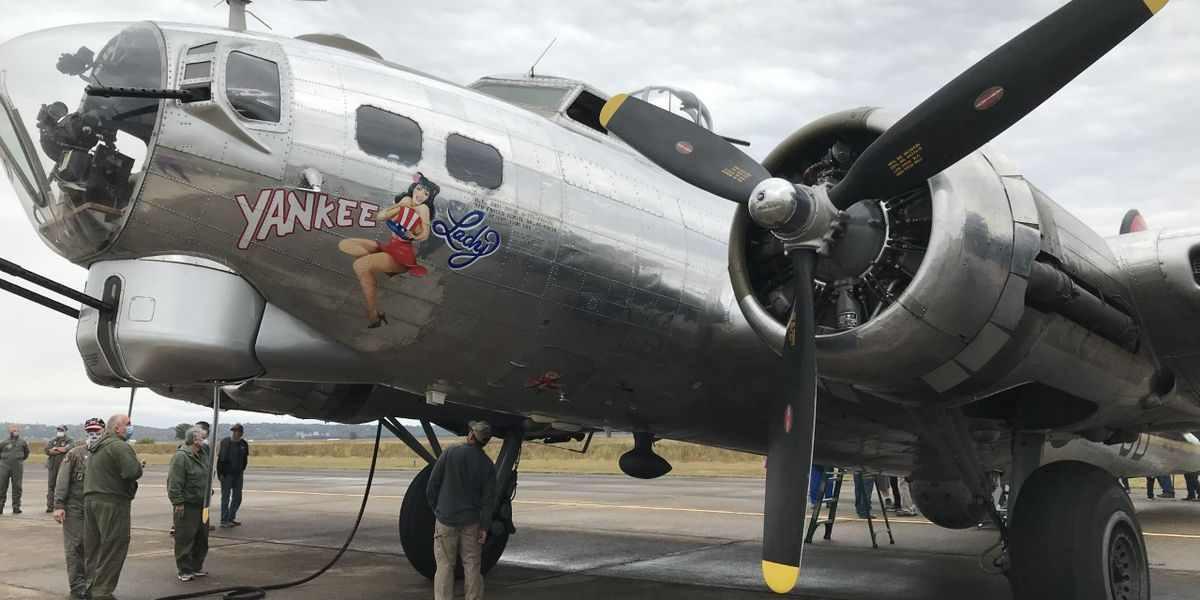 'Yankee Lady' B-17 war plane stops in Perryville