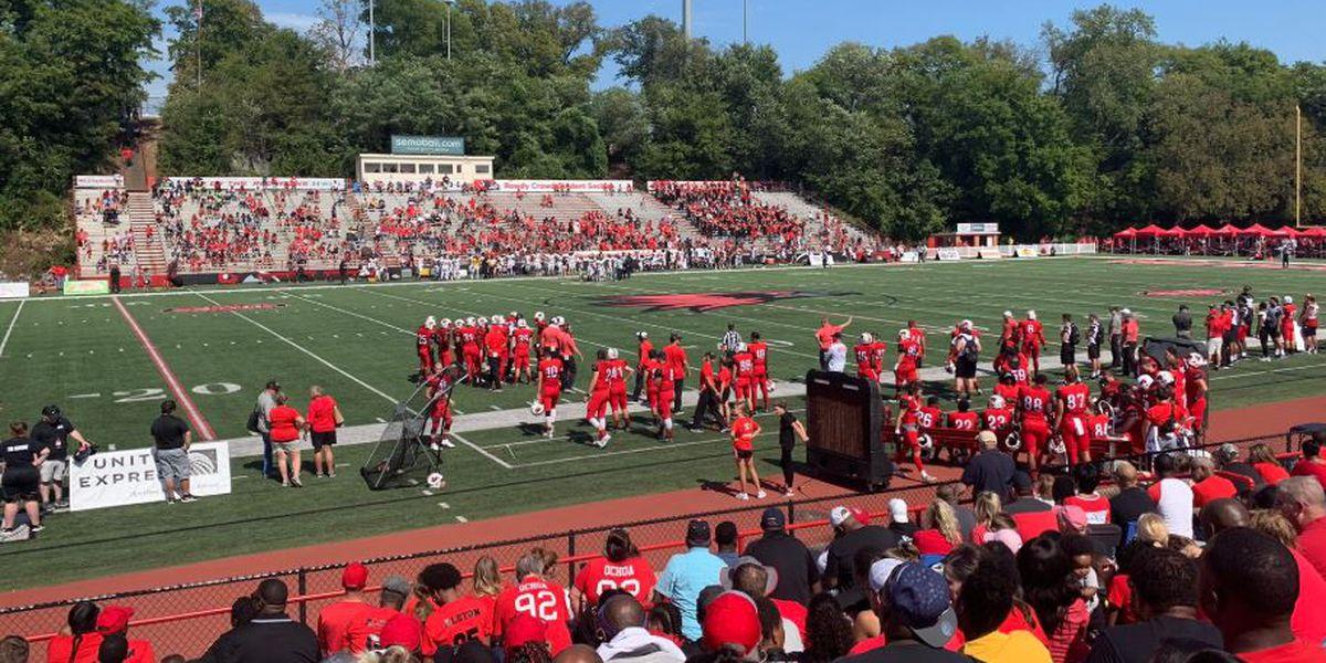 Heartland football college scoreboard 9/21