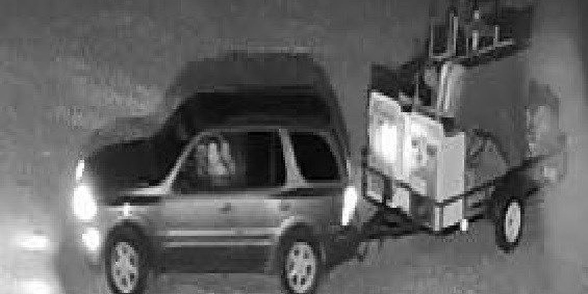 Keep your storage facilities secure: 2 people wanted, suspected of theft