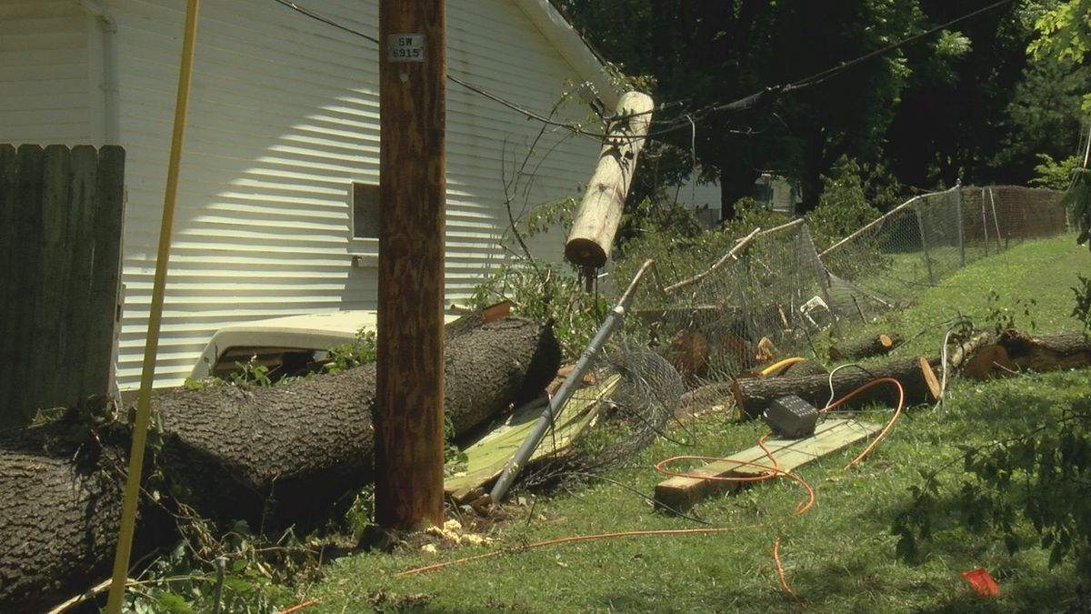 Woman caught in last Friday's storm is speaking out about her experience