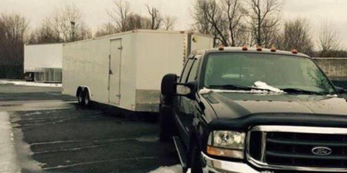 Driver of stolen NASCAR team trailer from Cape Girardeau Co.