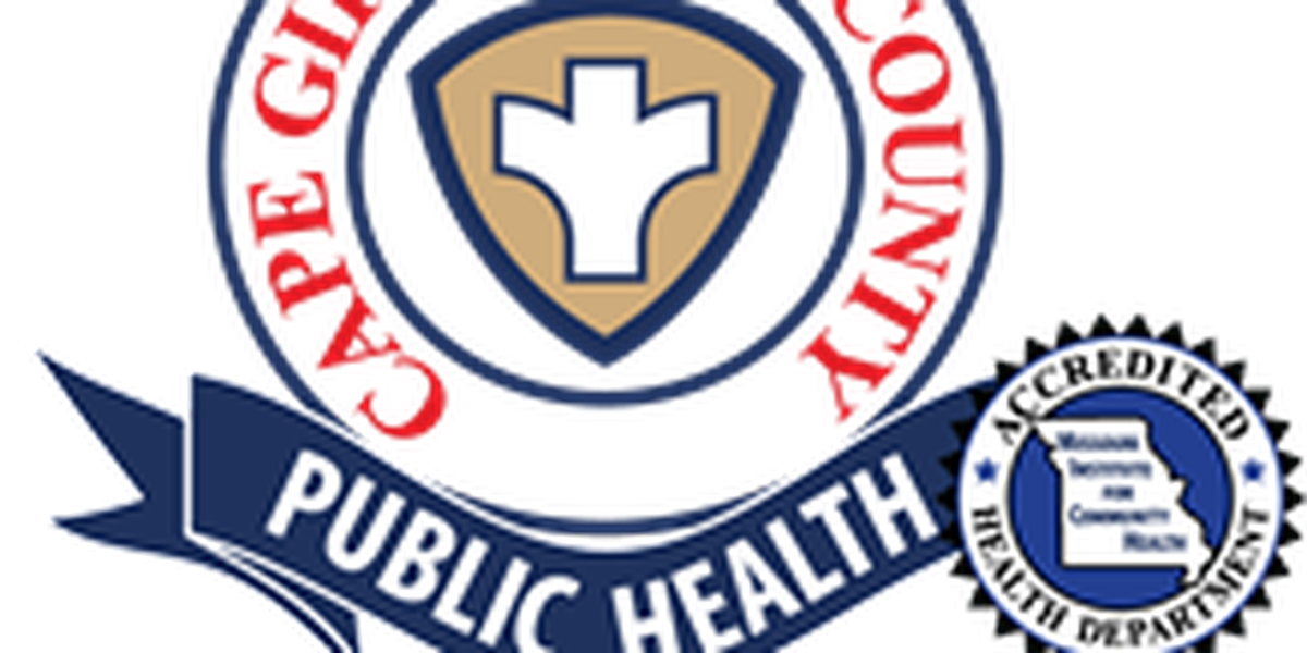 Cape Girardeau County Health Department reports two new cases of COVID-19