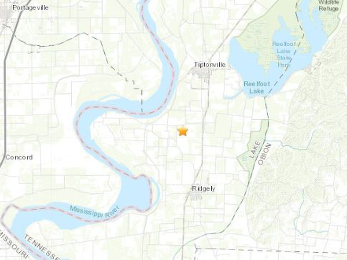 Earthquake rattles in Tenn. outside of Pemiscot Co., Mo.